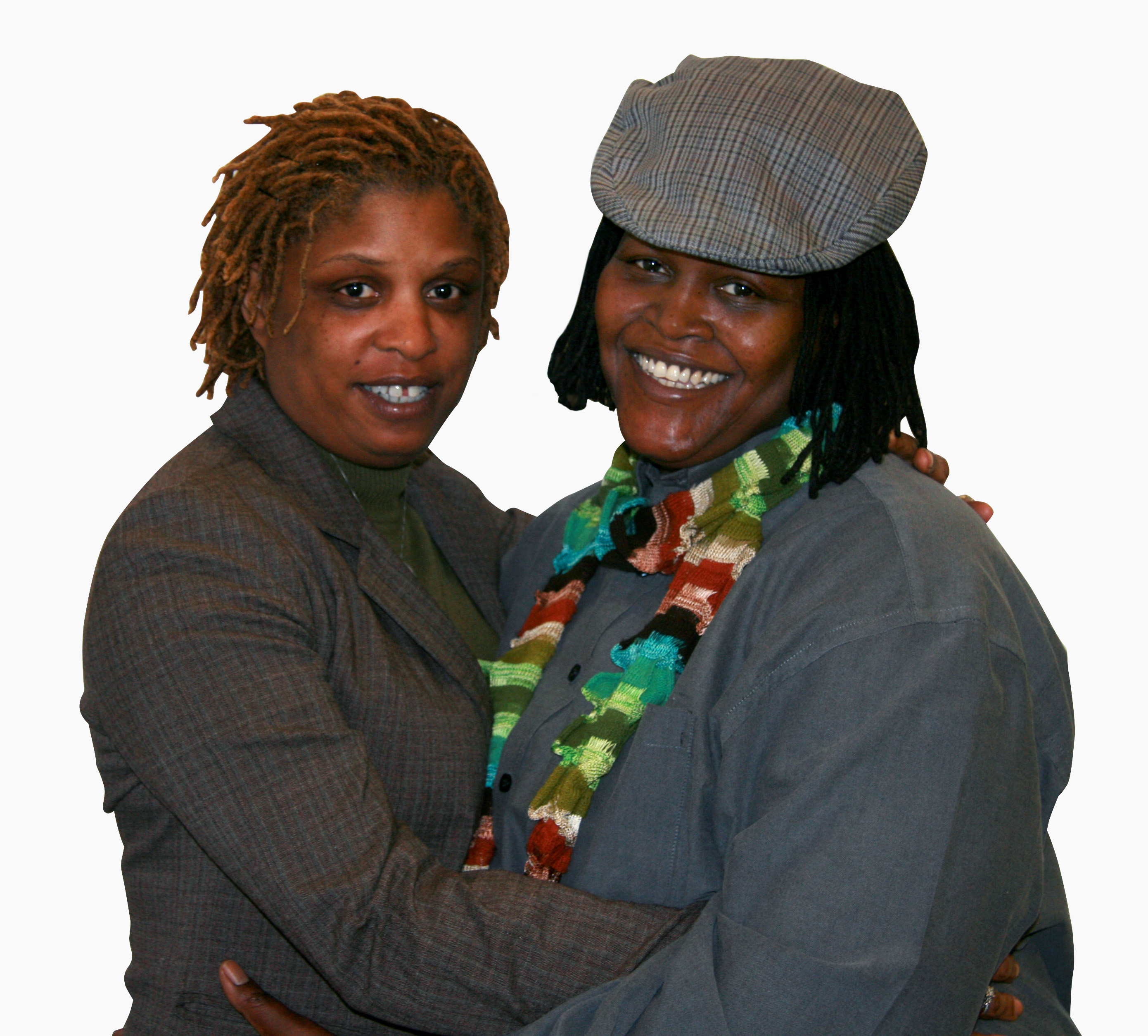 Angelisa Young and Sinjoyla Townsend