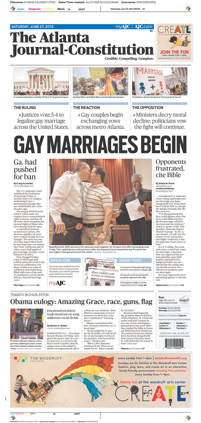 same sex marriage states timeline cover in New Haven