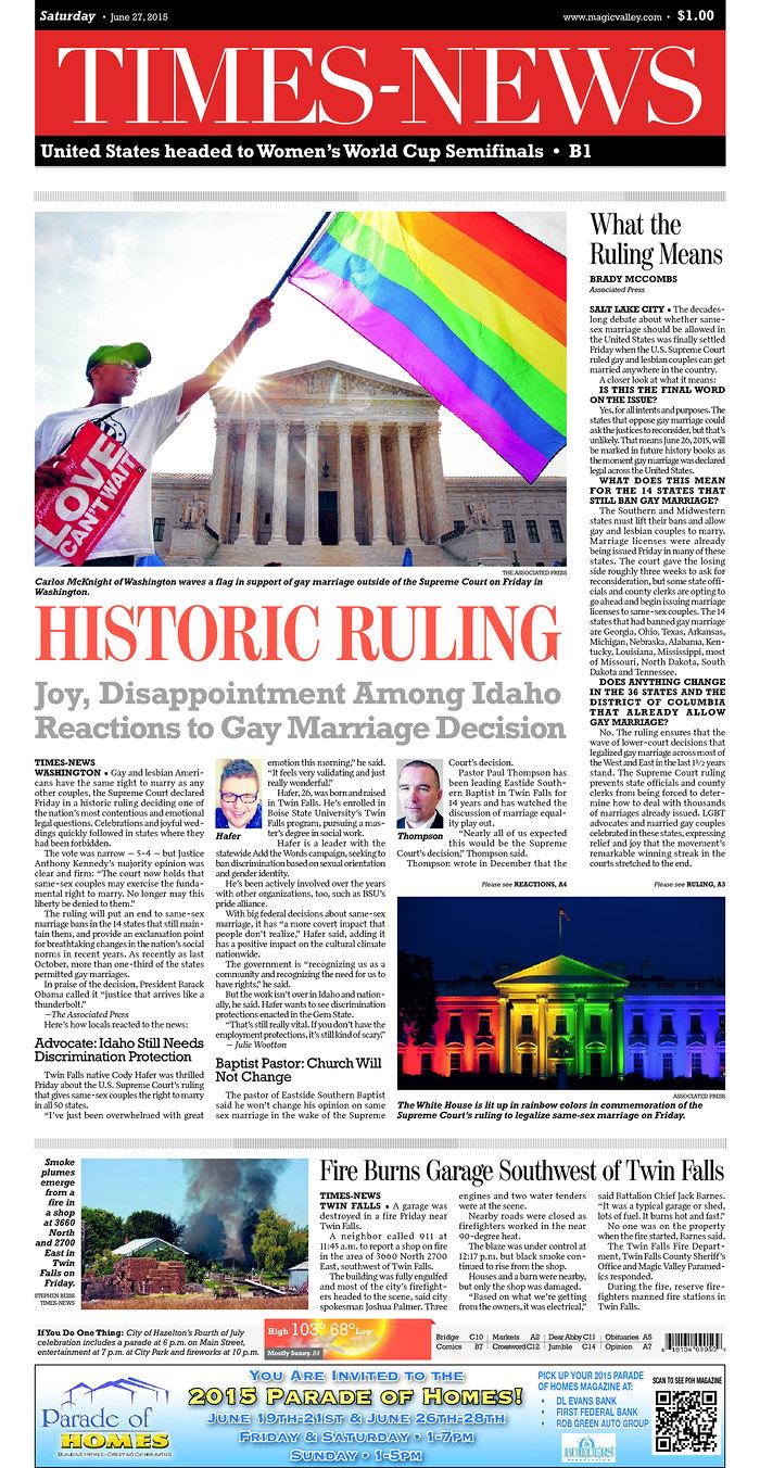 mexico same sex marriage in Idaho