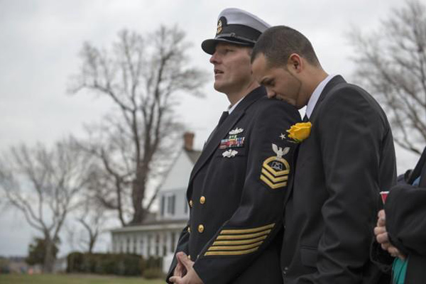 Gay In Military Uniform Have Sex