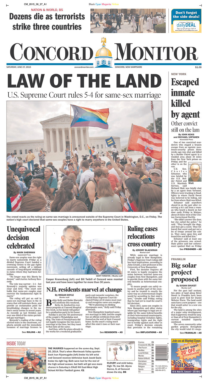 same sex marriage news montana in Stamford