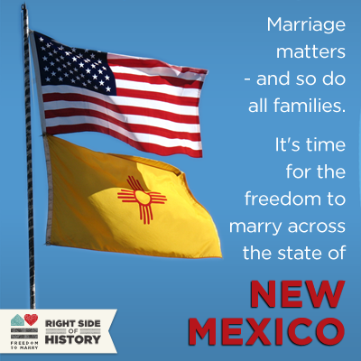 Huge steps forward in New Mexico: Same-sex couples marry in