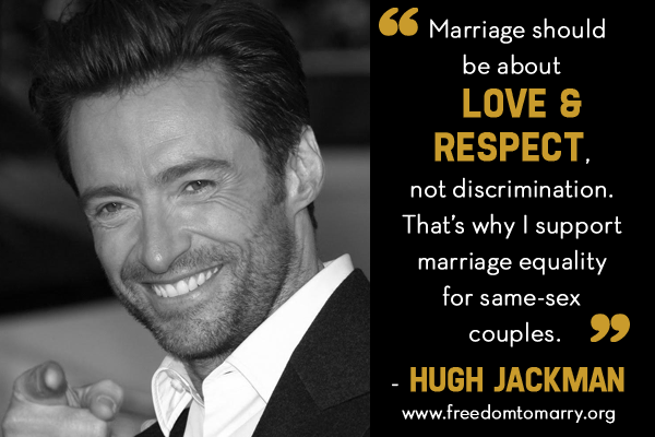 Famous quotes about same sex marriage